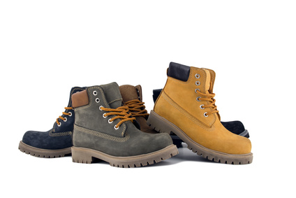 נעלי עבודה צבעוניות